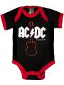 AC/DC body Bébé Gibson | AC/DC Body
