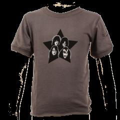 """Kiss T-shirt Bébé """"Vintage Black"""" é Cotton bio"""