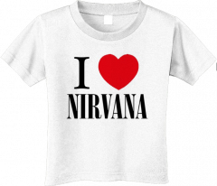 T-shirt Enfant Nirvana Love (Clothing)