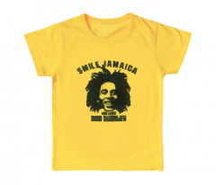 Bob Marley enfant T-shirt Smile Jamaica (Clothing)