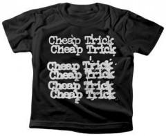 Cheap Trick t-shirt Enfant Stacked logo