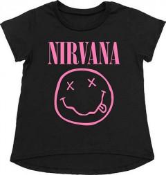 Nirvana t-shirt Enfant Smiley Pink