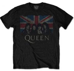 T-shirt Queen Enfant England Flag