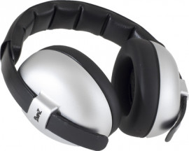 BabyBanz, protection auditive pour bébés Silver