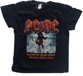 T-SHIRT AC/DC Enfant Blow Up Your Video