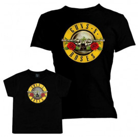 Set Rock duo t-shirt pour maman Guns N' Roses & t-shirt Bébé