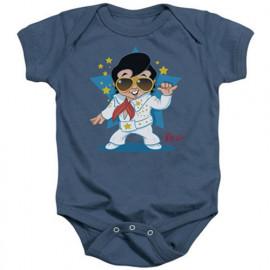 Elvis Body Bébé Singing Blue