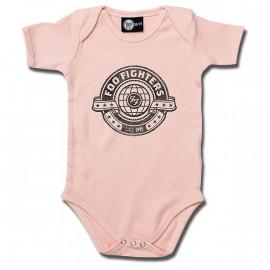 Foo Fighters body é metal bodys Metal-Kids Logo Pink