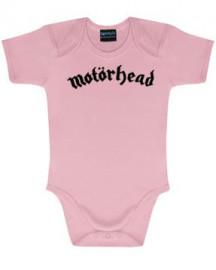 Motörhead body é metal bodys Metal-Kids Logo Pink