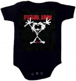 Body Bébé Pearl Jam Stickman