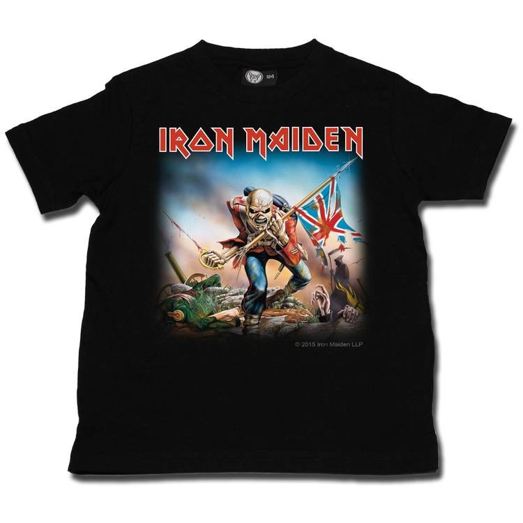 Iron Maiden t-shirt Enfant Trooper Metal-Kids