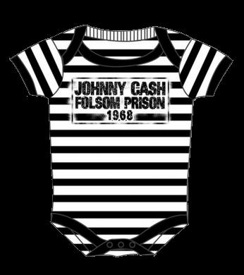 Body Bébé Johnny Cash Folsom stripes (Clothing)