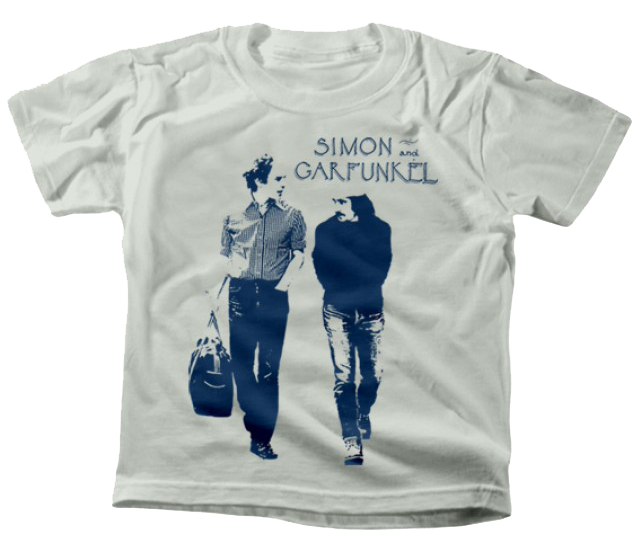 Simon and Garfunkel t-shirt Enfant Walking