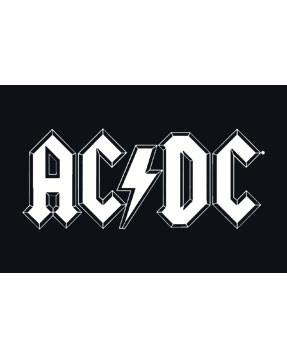 Body Bébé AC/DC White Logo é Metal body Bébés AC/DC