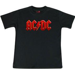 AC/DC t-shirt Enfant Logo colour é Metal Enfant