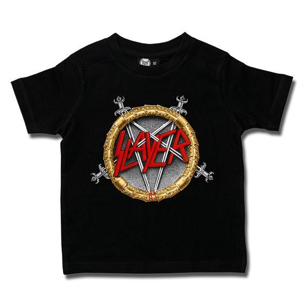 Slayer t-shirt Enfant Pentagram Metal-Kids