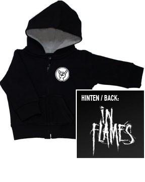 In Flames Logo Sweat Bébé (Print On Demand)