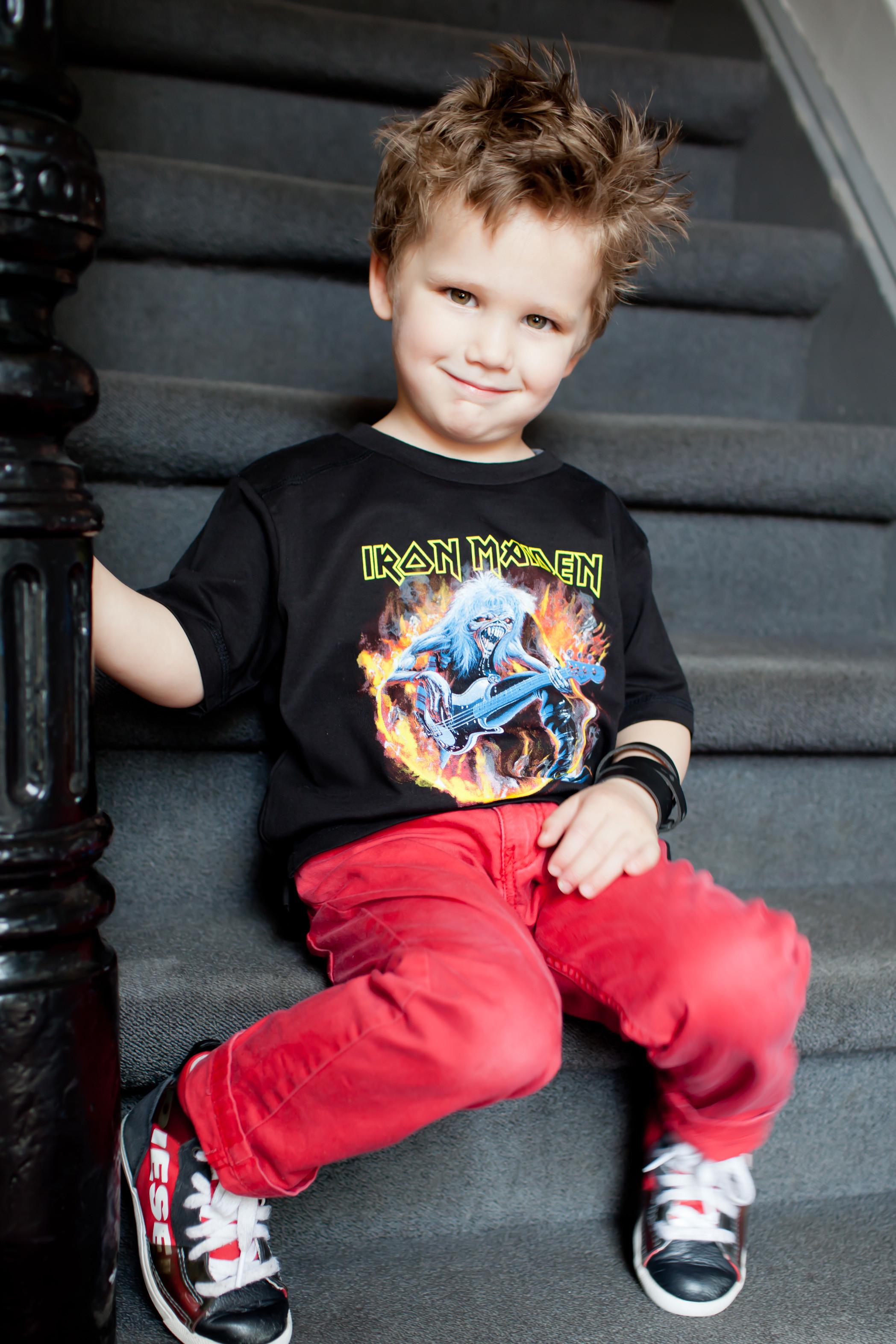 Iron Maiden t-shirt Enfant FLF Metal-Kids