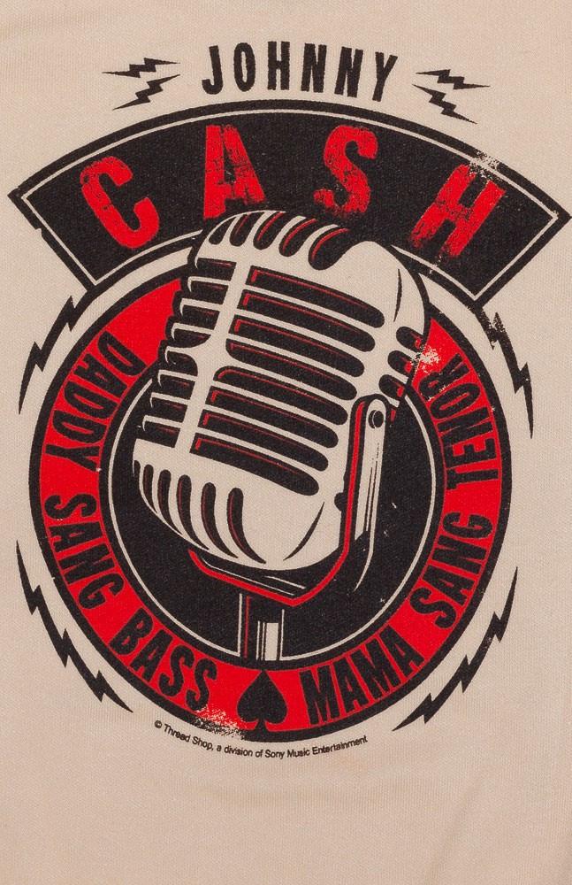 Body Bébé Johnny Cash Daddy Sang Bass détail