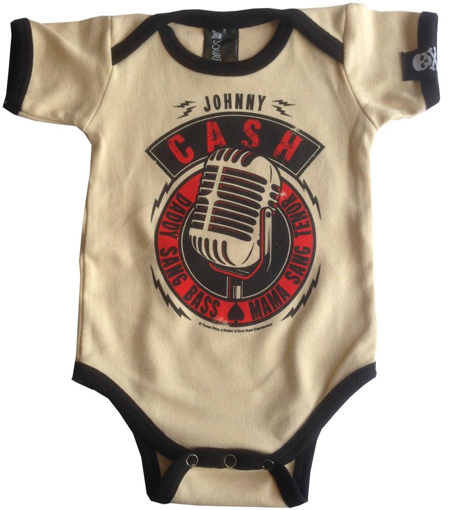 Body Bébé Johnny Cash Daddy Sang Bass