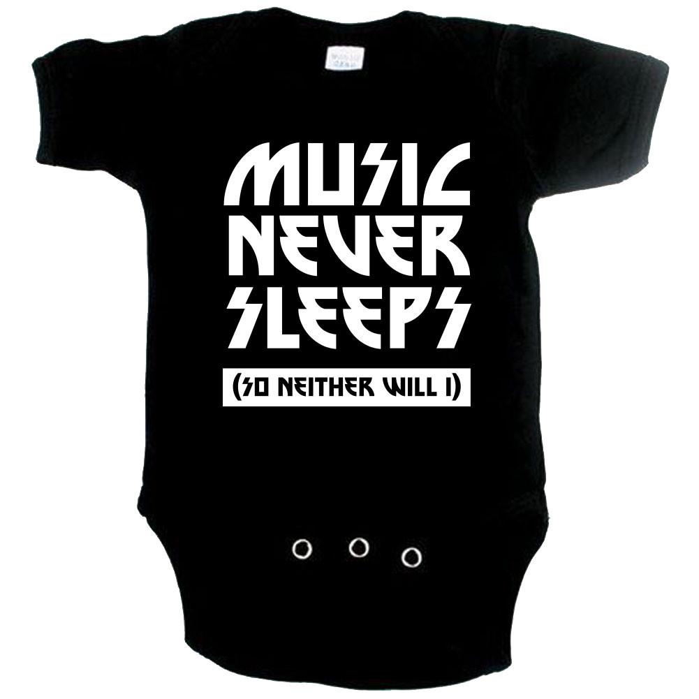 Body Bébé Original music never sleeps so neither will I