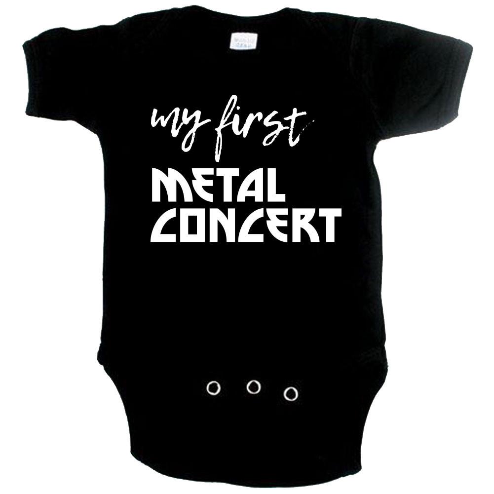 Body Bébé Metal my first metal concert