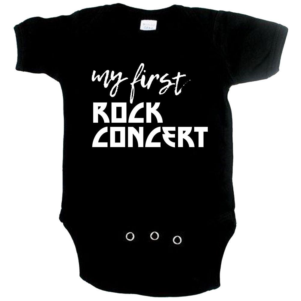 Body Bébé Rock my first rock concert