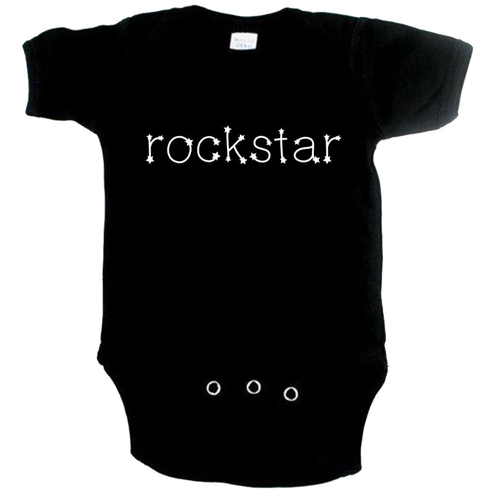 Body Bébé Rock rockstar