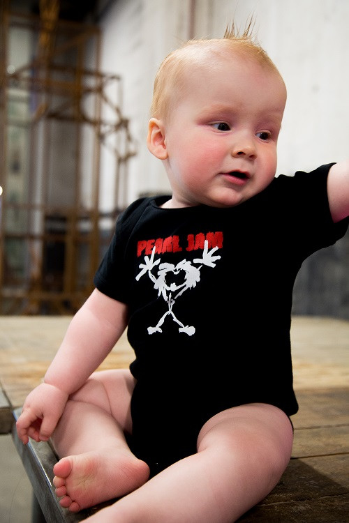 Body Bébé Pearl Jam Stickman photo