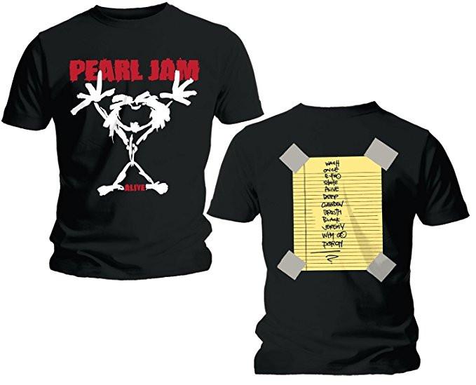 Set Rock duo t-shirt pour papa Pearl Jam & Pearl Jam body Bébé