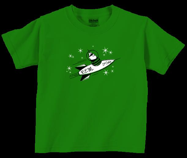 R.E.M. t-shirt Enfant Rocket