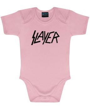 Slayer body é metal bodys Metal-Kids Logo Pink