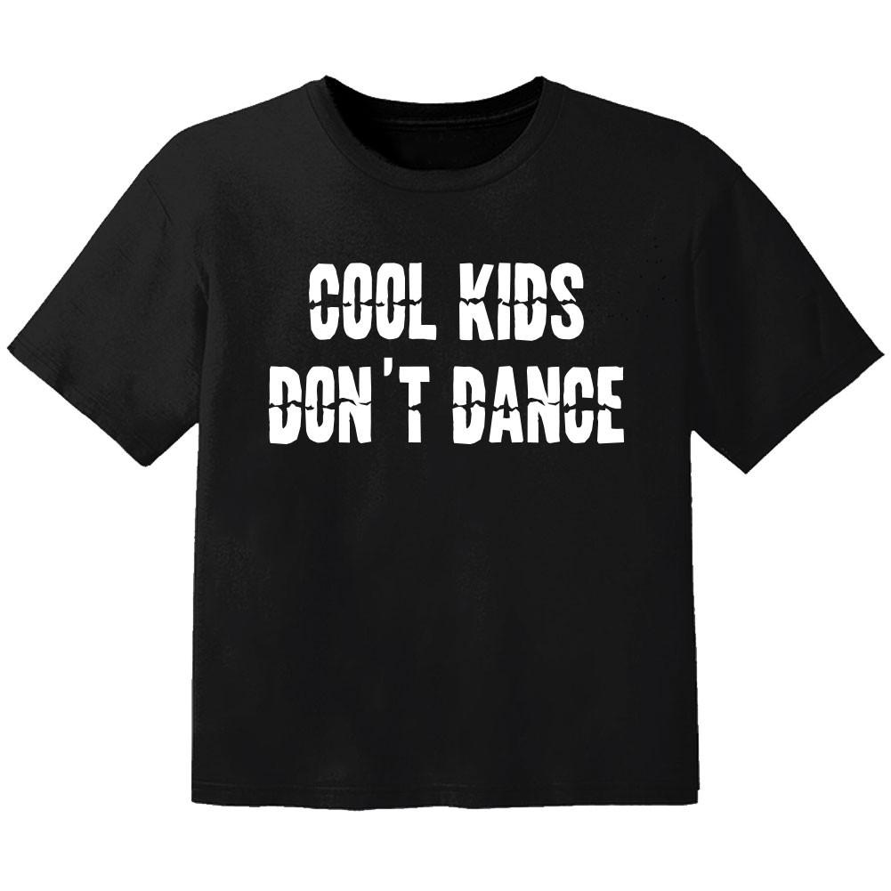 T-shirt Bébé Rock cool kids don't dance