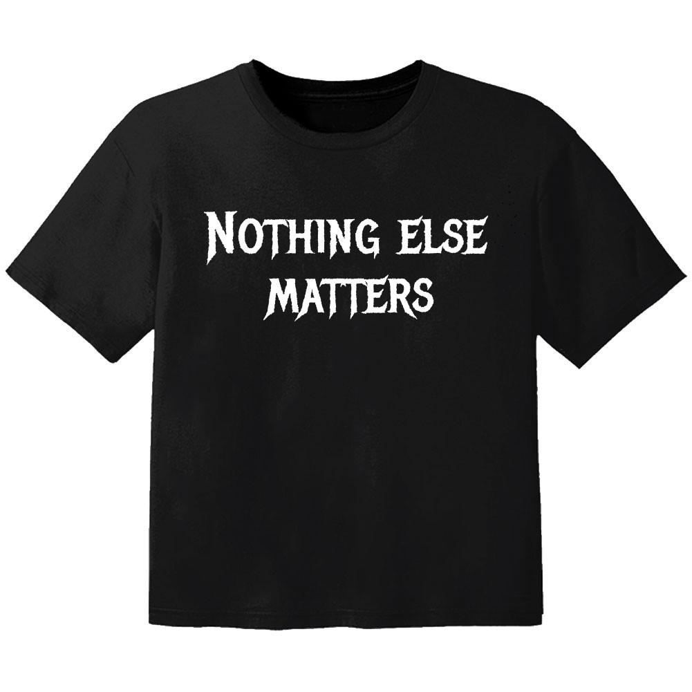 T-shirt Bébé Metal nothing else matters