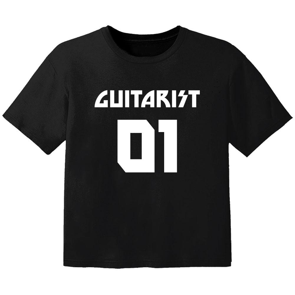 T-shirt Bébé Rock guitarist 01