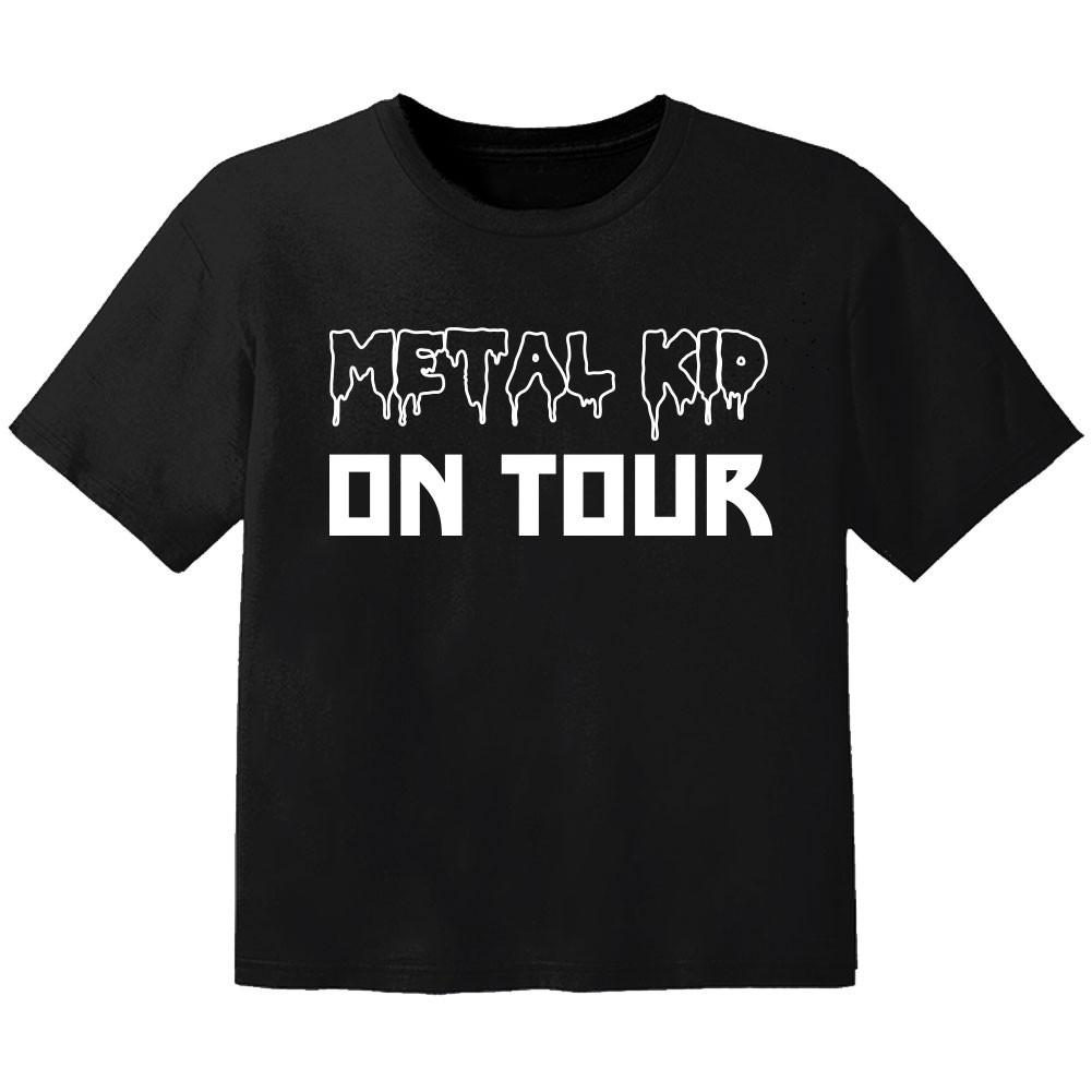 T-shirt Metal Kids Enfant metal kid on tour
