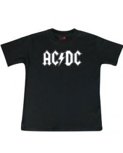 AC/DC t-shirt Enfant Logo white é METAL Enfant