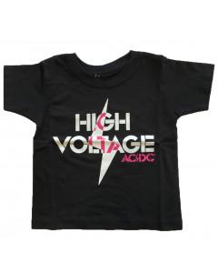 T-SHIRT AC/DC Enfant High Voltage AC/DC