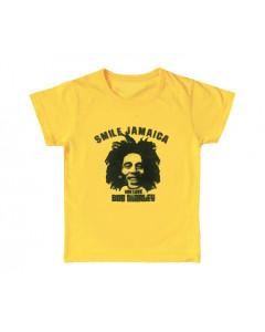 Bob Marley t-shirt Enfant Smile Jamaica