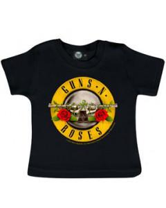 Guns N Roses T-shirt Bébé Logo é bullet shirts Metal-Kids