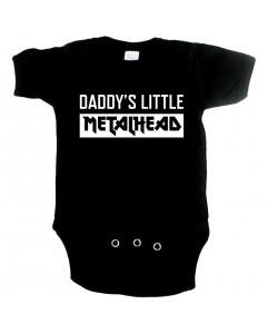 Body Bébé Metal daddys little metal head