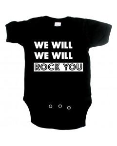 Body Bébé Original we will rock you