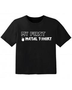 T-shirt Bébé Metal my first metal t-shirt
