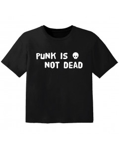 T-shirt Bébé Punk punk is not dead