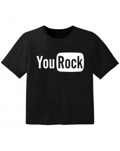 T-shirt Bébé Rock you rock