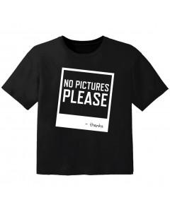 T-shirt Original Enfant no pictures please